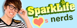 SparkLife Hearts Nerds