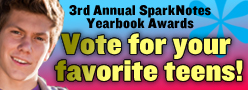 3rd Annual SparkNotes Yearbook Awards: Vote for your favorite teens!