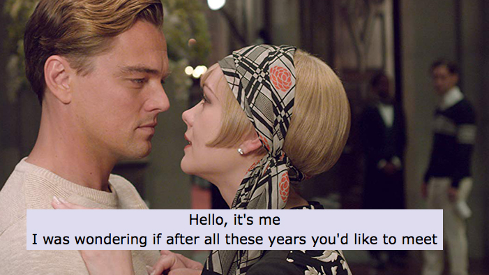<i>The Great Gatsby</i>, Summed Up in Pop Songs