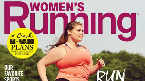Badass Plus-Size Teen Runner Speaks the Truth About Her Fitness Magazine Cover