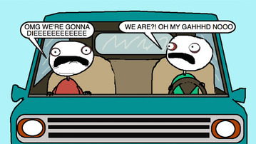 Auntie SparkNotes: My Mom Panics Whenever I'm Behind the Wheel