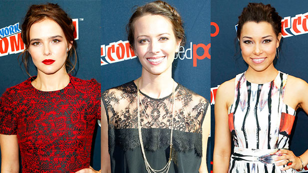 Celebs at the 2013 New York Comic Con!