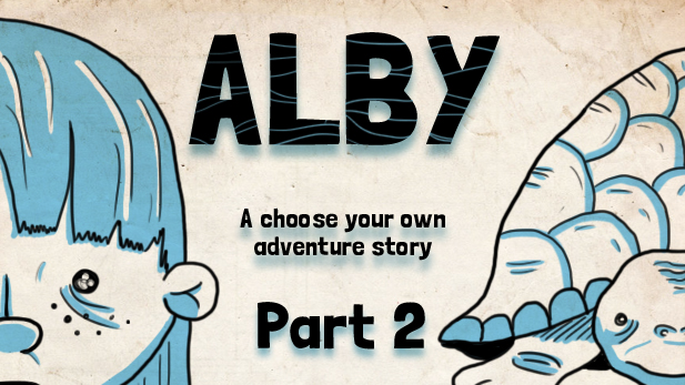 ALBY, a Choose Your Own Adventure Story: The Turtle Speaks