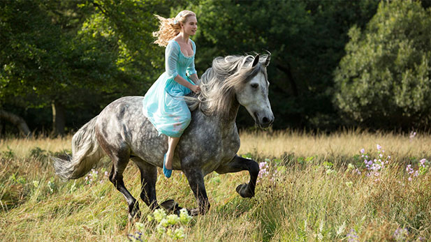 FIRST LOOK: Disney's New Cinderella Dressed to Thrill