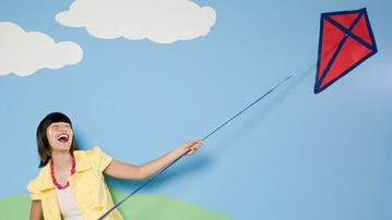 No Wind? No Problem...With Indoor Kites!