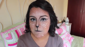 Hey Bambi! It's a Deer Face Makeup Tutorial!