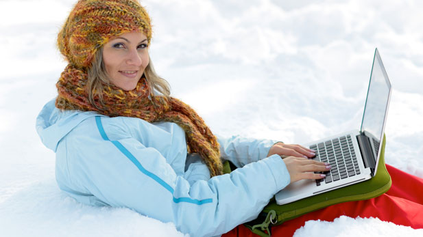 Why Are They Using Laptops In The Snow?