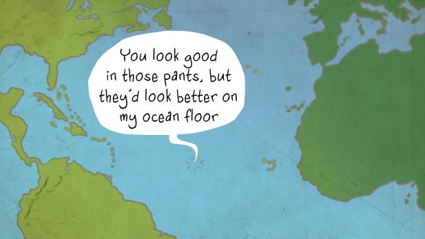 Undersea Pickup Lines