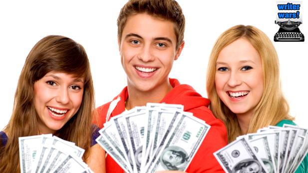 Writer Wars: Money Money MONNNAYYYYY