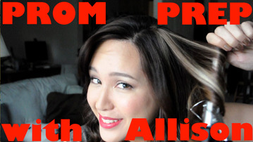 Get Ready With Allison Emm For SparkLife Prom!