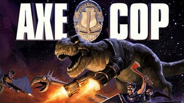 We Interview the Creator of Axe Cop!