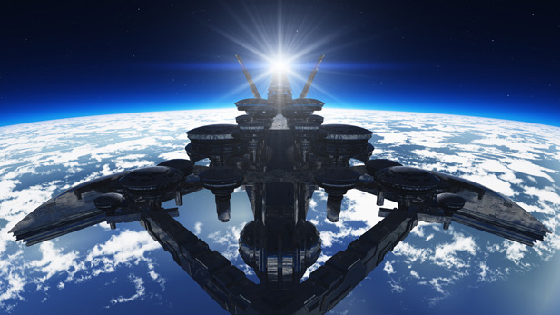 10 Fictional Spaceships We Want To Live On!