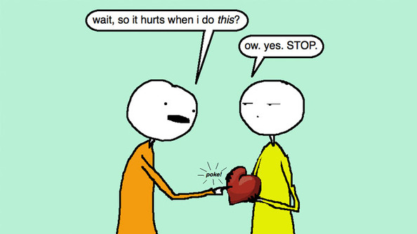 SparkLife » Auntie SparkNotes: I Dumped This Guy And He's