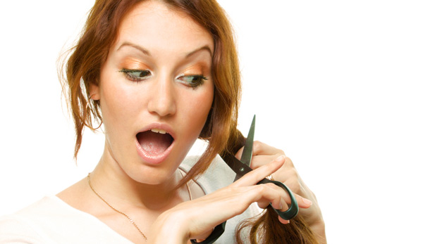 Sparklife How To Make Cutting Your Own Hair Less Scary And More
