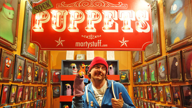 Book Review: Sock Puppet Madness!