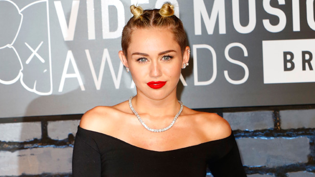 Miley Cyrus Twerks On Vincent Van Gogh