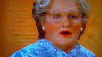 BREAKING: Mrs. Doubtfire Still Relevant, Saves Life