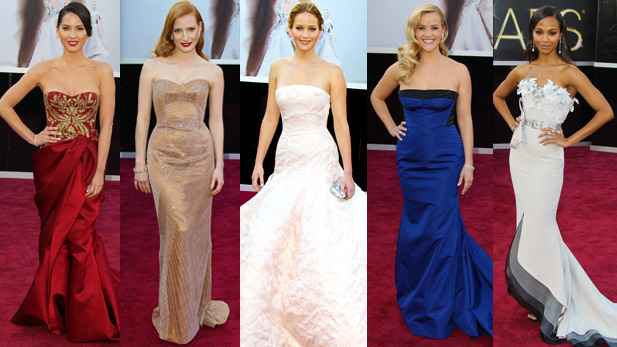 Who Was The Best-Dressed At the 2013 Oscars?