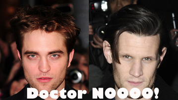 Robert Pattinson Might Be Doctor Who!?