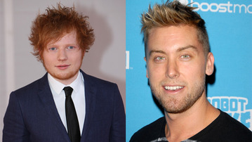 Is This Really Happening? Ed Sheeran And Lance Bass Nail <i>The Notebook</i>