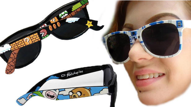 Get a Gander at the Geekiest Sunglasses Ever!