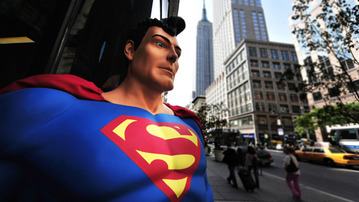 Real Life Statues For Fictional Characters