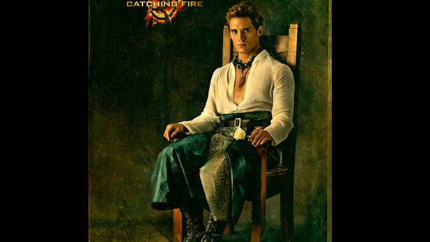 Critiquing the Hunger Games: Catching Fire Portrait of Finnick Odair
