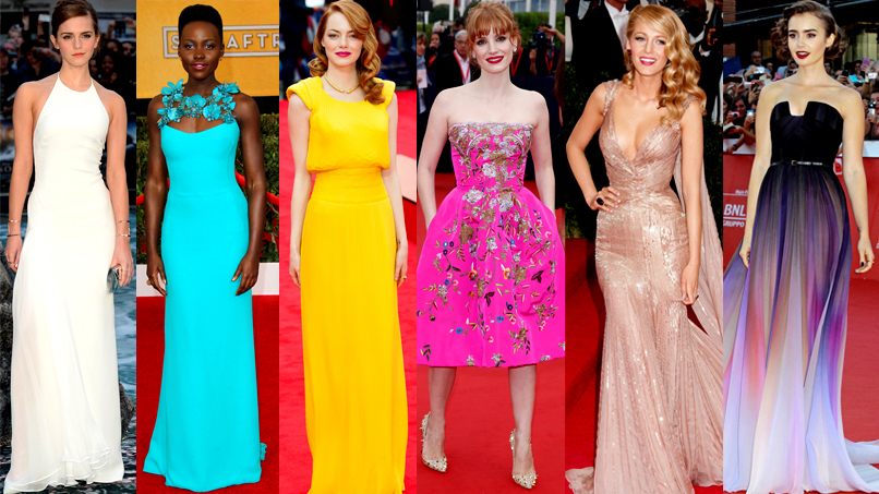 THE ALL-CAPS RECAP YOU'VE BEEN DREAMING OF: The 50 Most Gorgeous Dresses of 2014!