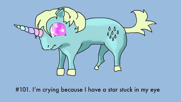 100 Ways to Explain Your Crying