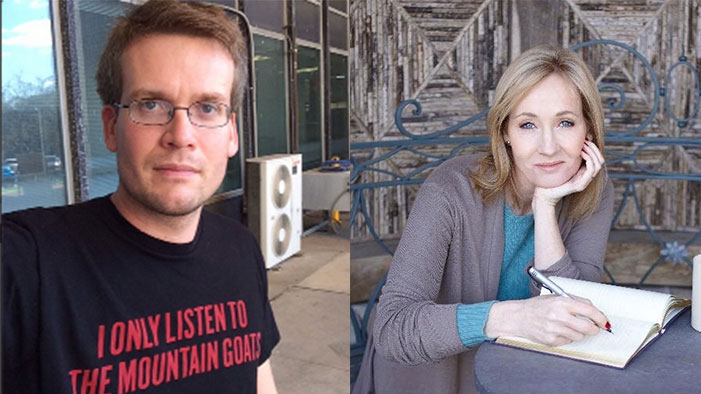 JK Rowling and John Green COMBINE FORCES in this Week's Celebrity Twitter Roundup!