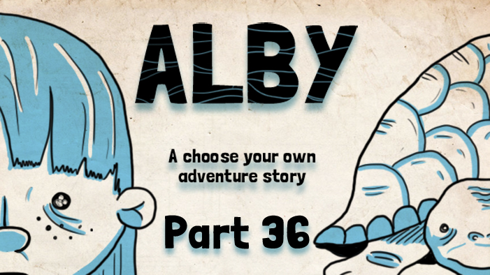 ALBY, a Choose Your Own Adventure: The Second Trial
