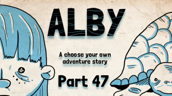 ALBY, A Choose Your Own Adventure Story: The Underground