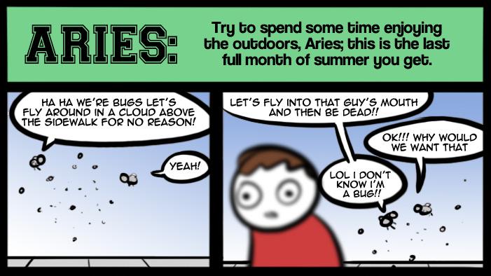 August Horoscopes!