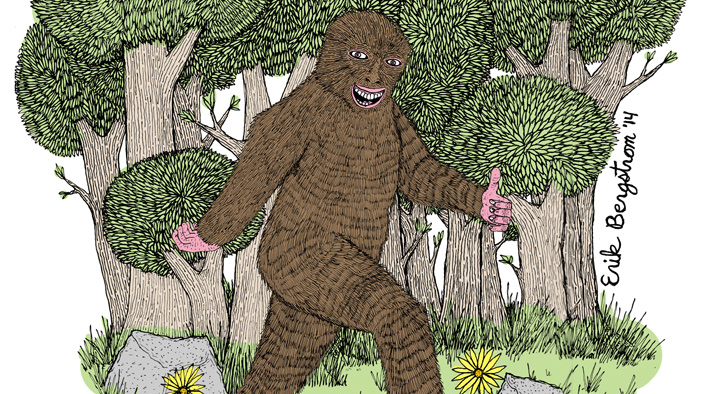 Think You Saw Bigfoot? It Was Probs Just Gary the Comment Monster. Or Elvis. Or...