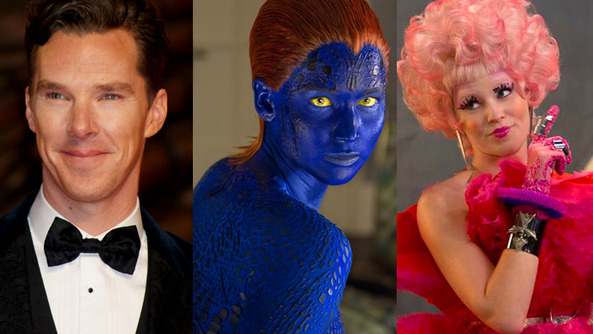 Benedict Gets Bloody, JLaw Turns Blue, and Effie Trinkett Directs Pitch Perfect 2: Check Out All the BREAKING MOVIE NEWS!