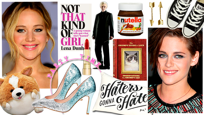 Draco Malfoy, Band-Aids, & Nutella: Here's What We're Getting Our Celeb Besties This Christmas!