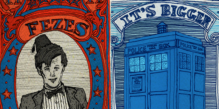 Check Out These Awesome Doctor Who Stamps!