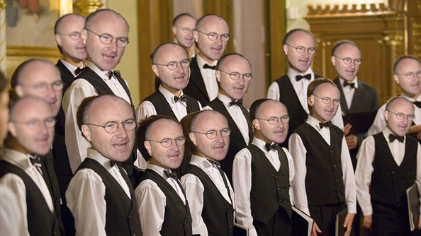 THERE IS A PHIL COLLINS CHOIR