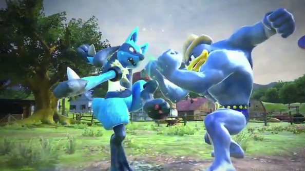 "Video of ""Pokémon"" and ""Tekken"" Combine in ""Pokken Tournament""!"