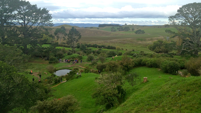 A Journey Through Hobbiton
