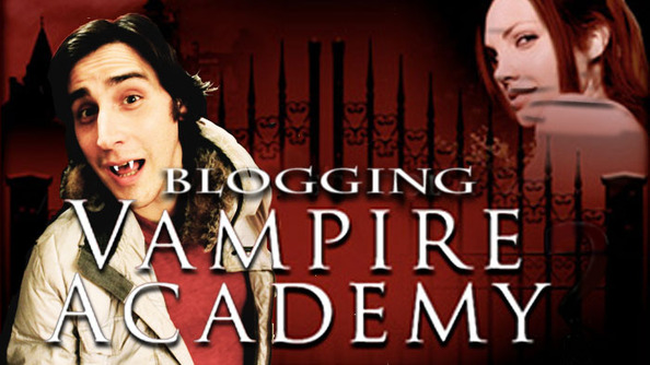 Velcome to My Blogging of Vampire Academy: Part 1