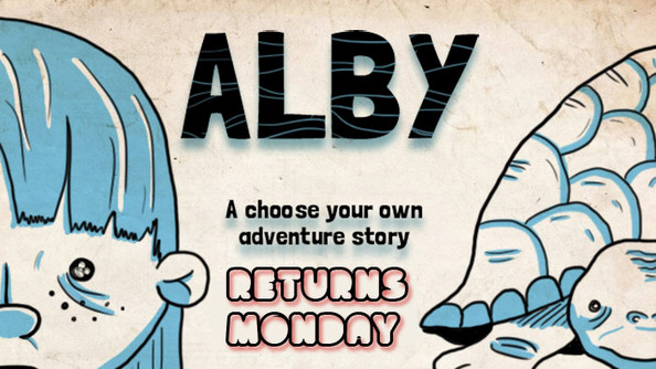 Alby Returns Monday