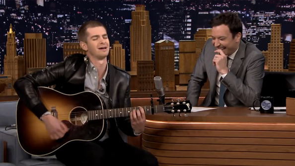 Andrew Garfield Is Adorably Awkward on Jimmy Fallon