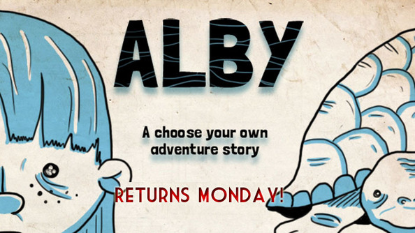 Alby Will Be Up Monday, Y'all!
