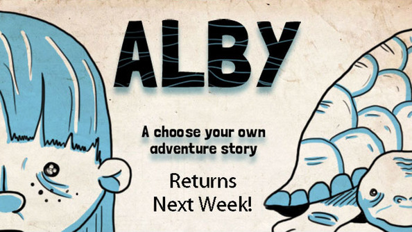 ALBY Is on Vacation!