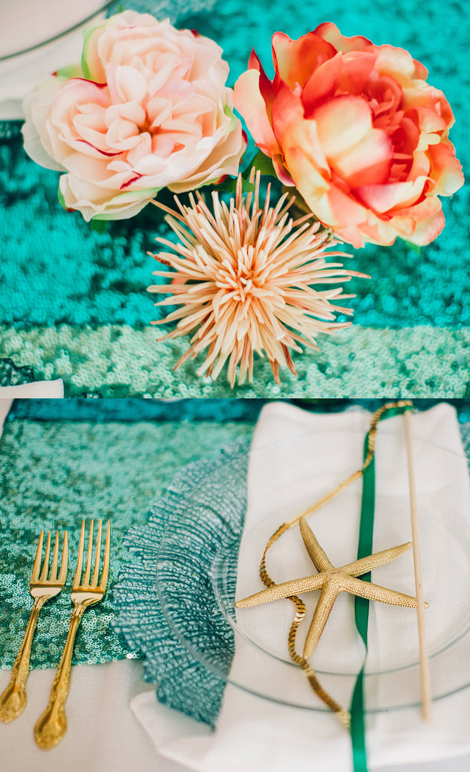 Sparklife This Little Mermaid Themed Wedding Is About To Make Your