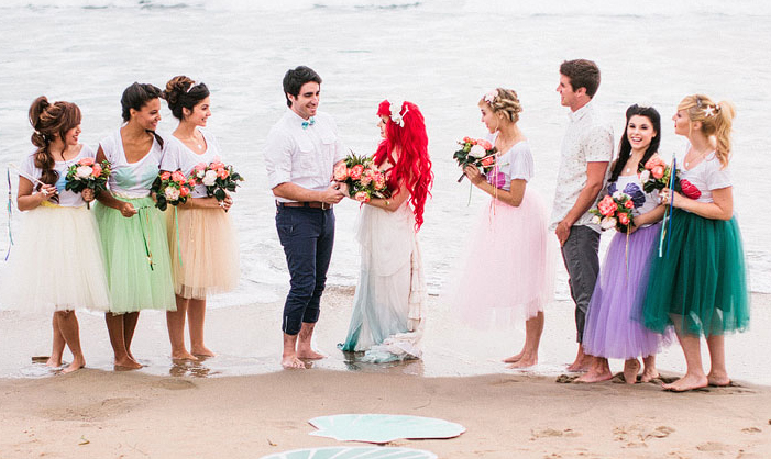 Sparklife This Little Mermaid Themed Wedding Is About To Make Your Disney Dreams Come True