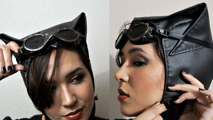 Make Your Own Steampunk Catwoman Accessories!