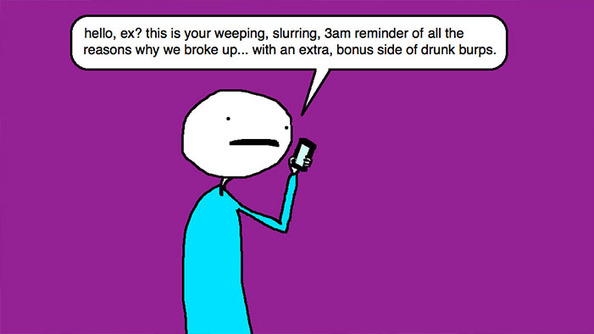 Auntie SparkNotes: I Drunk-Dialed My Ex and Now He Hates Me