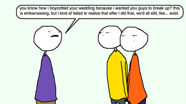 Auntie SparkNotes: It Is Wrong That I Skipped My Brother's Wedding?